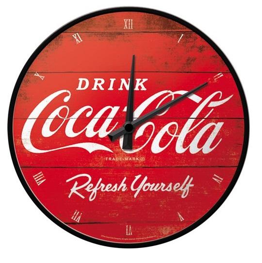 Retro Coca-Cola Kitchen Wall Clock