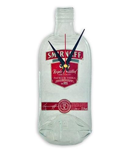Smirnoff Vodka Bottle Kitchen Wall Clock