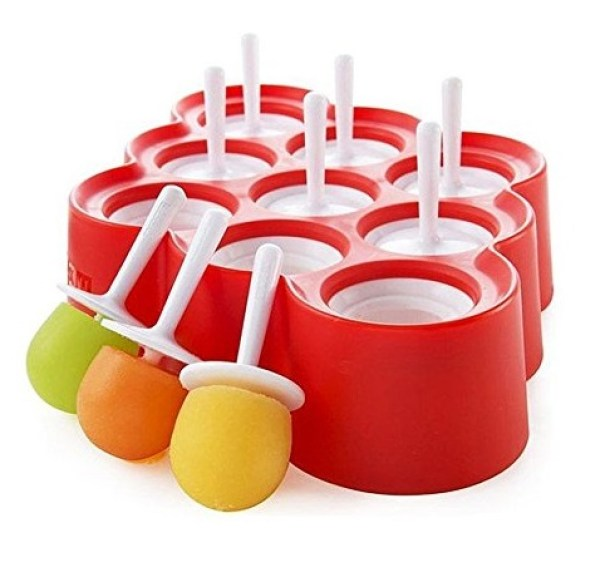 Mini Silicone Popsicle Moulds
