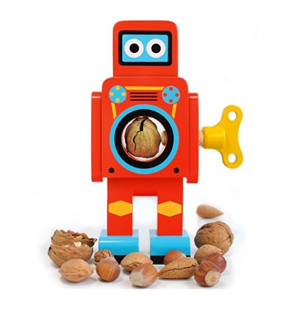 Robot Nutcrackers by Suck UK
