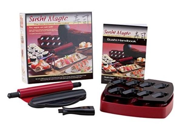 Sushi Maker Kit and Handbook by Sushi Magic