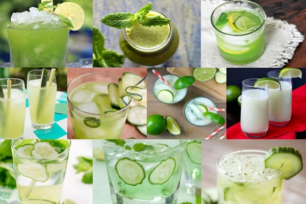 Ten of the Very Best Recipes for Cucumber Drinks to Cool You Down