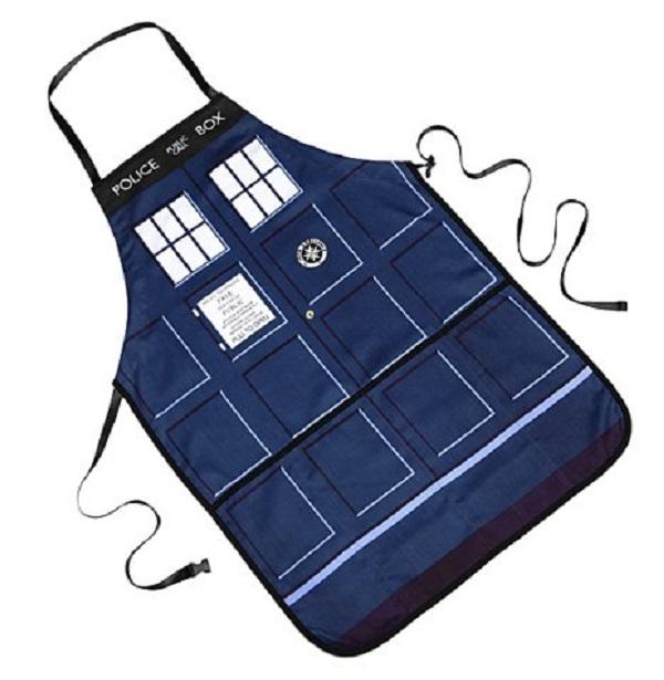 Doctor Who Tardis Kitchen Apron