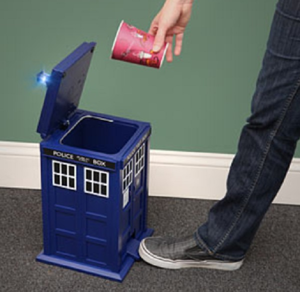 Doctor Who Tardis Waste Basket