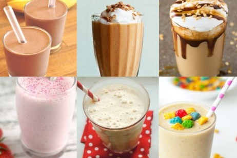 Ten Amazing Recipes for Breakfast Milkshakes to Keep You Going