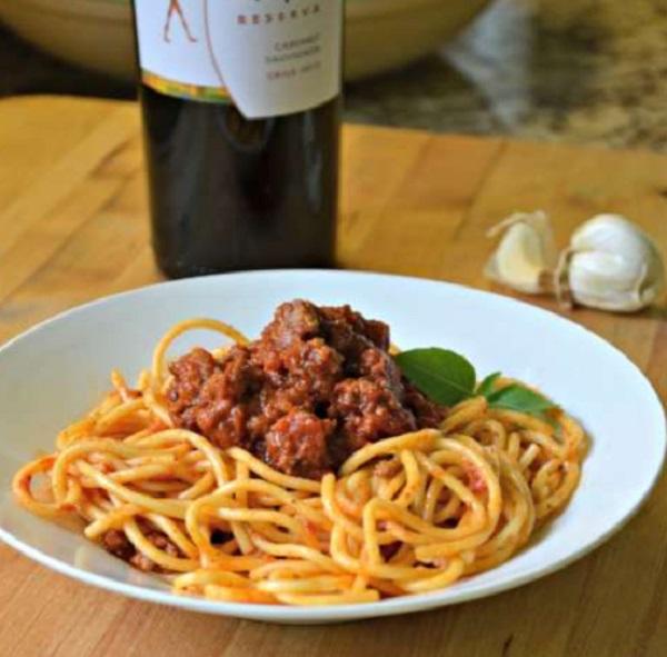 Posh Spaghetti Bolognese