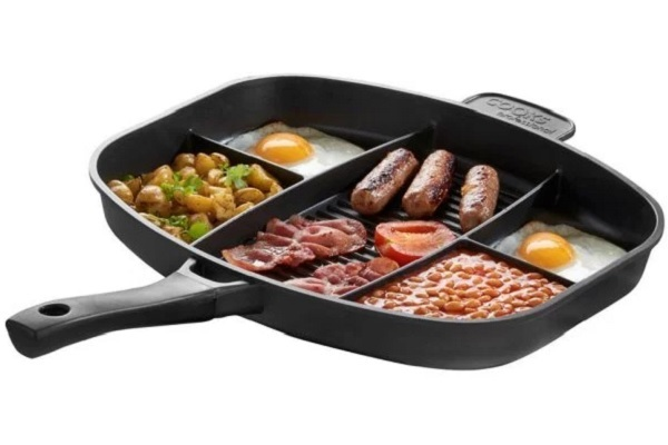 Cooks Professional Divided Frying Pan