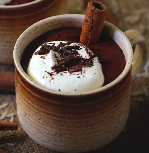 Horchata Mexican Hot Chocolate