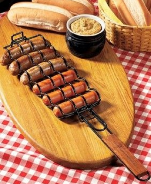 Hot Dog Grilling Basket