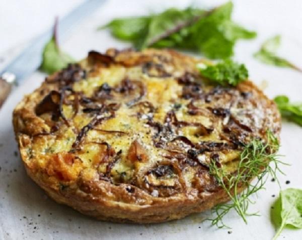 Sweet Potato & Blue Cheese Frittata