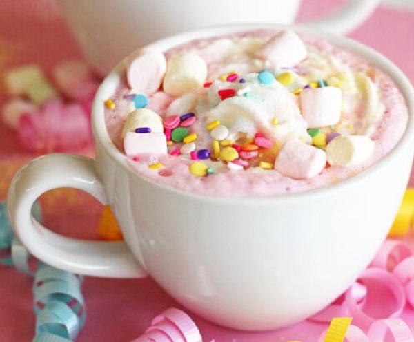 Unicorn Hot Chocolate