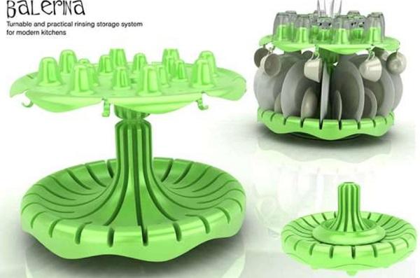 Balerina Designer Dish Rack
