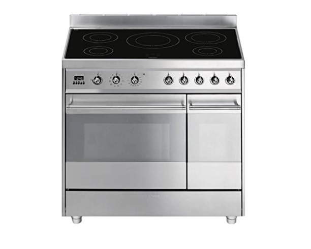Smeg SY92IPX8 Symphony Freestanding Electric Range Cooker