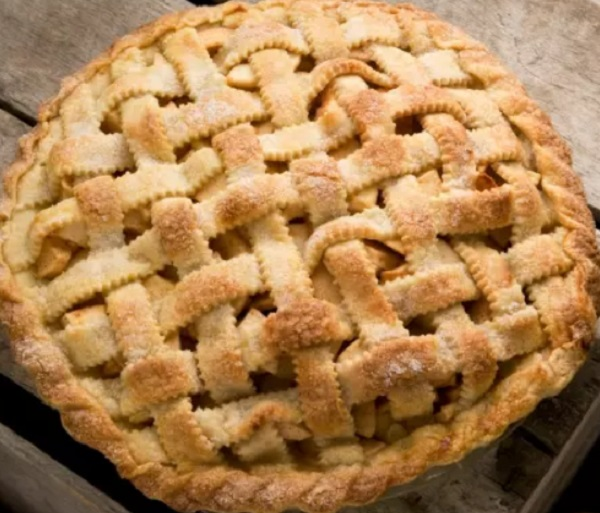 Apple-Rhubarb Pie