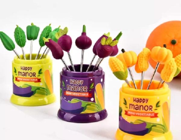 Mini Vegetable Fruit Forks