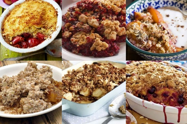 Ten Recipes for Crumbles Your Whole Family Will Enjoy