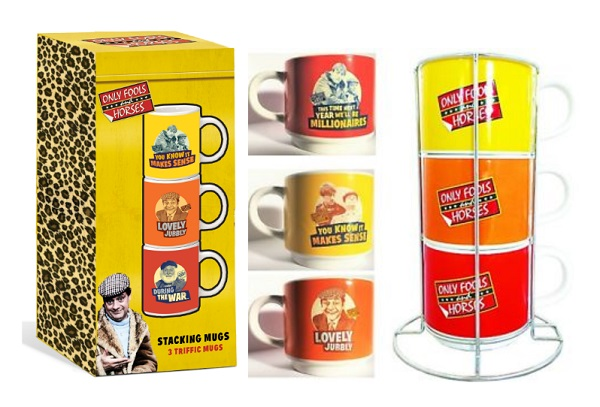 Only Fools & Horses Stackable Mugs