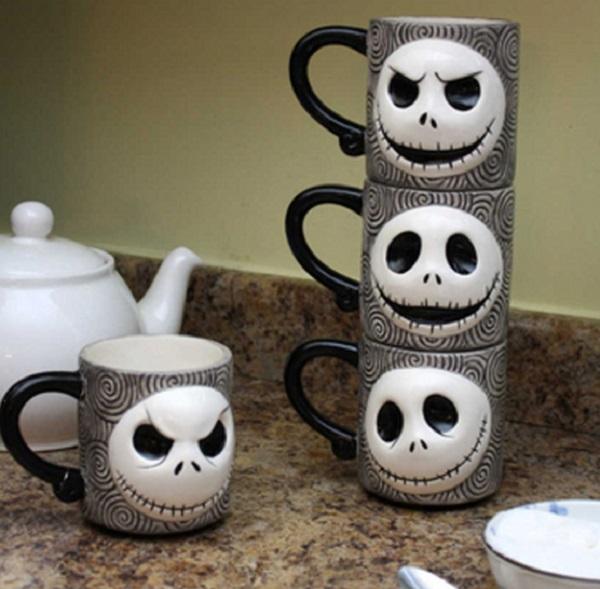 Nightmare Before Christmas Stackable Mugs