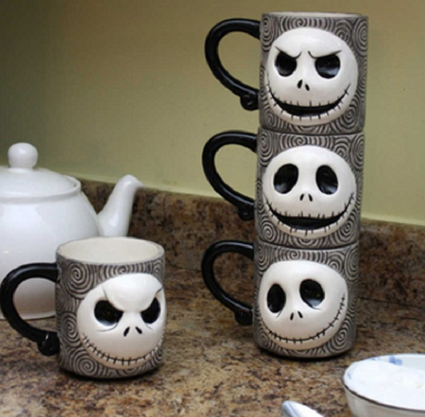 Nightmare Before Christmas Stackable Mugs