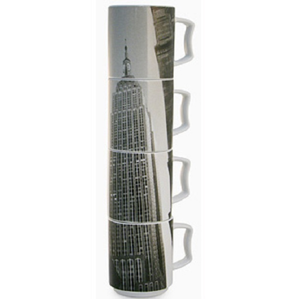Empire State Building Stackable Mugs