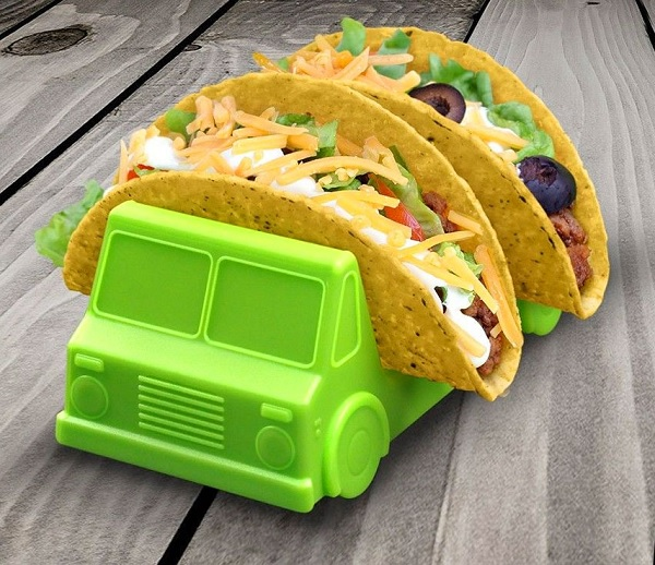 Taco Truck Taco Holder (Green and Orange)