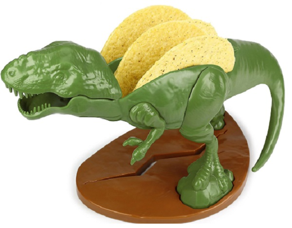 TacoSaurus Rex Dinosaur Taco Holder