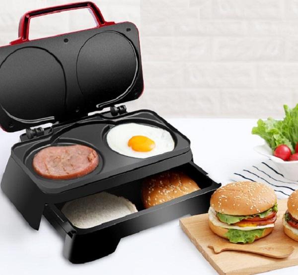Nostalgia Multi-functional Breakfast Sandwich Maker