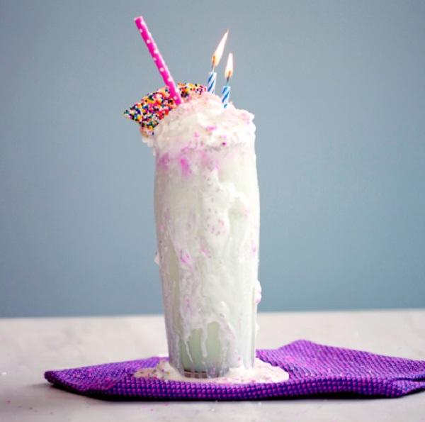 Birthday Cake Protein Shake