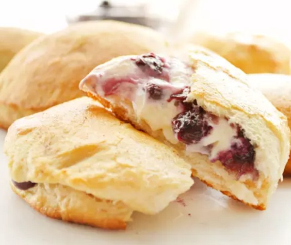 Blueberry Biscuit Bombs
