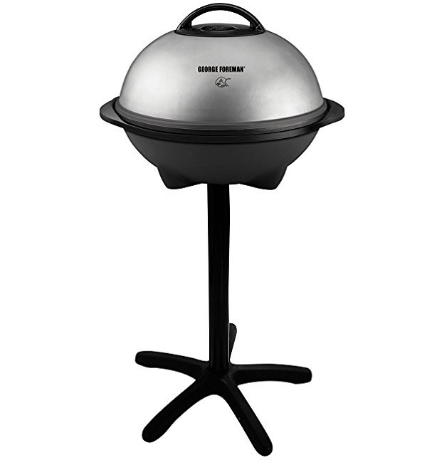 George Foreman GGR50B Outdoor Electric BBQ Grill