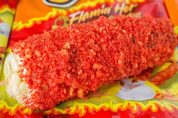 Flamin' Hot Cheetos Corn On The Cob