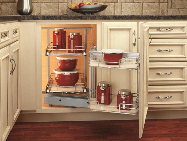 Magic Hinge Pull-out Kitchen Corner Unit