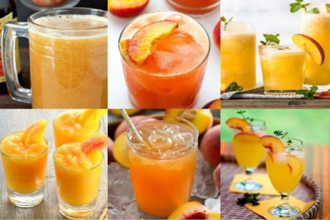 Ten Peach Drinks to Keep You Refreshed and Cool