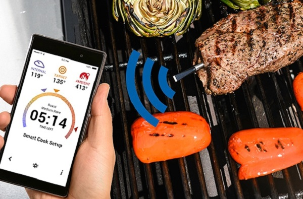 The World's First Truly Wireless Meat Thermometer by Meater