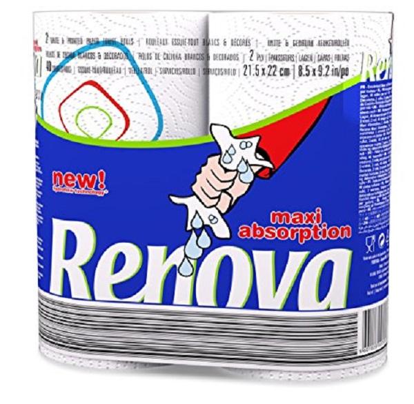 Renova Maxi Absorption Kitchen Roll
