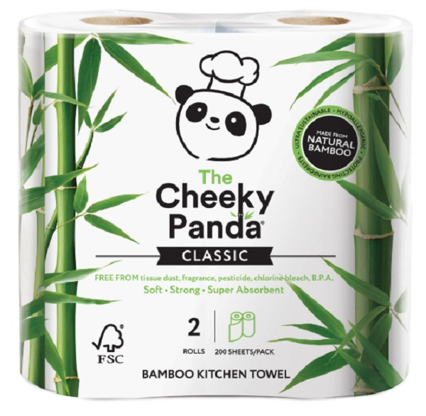 The Cheeky Panda Kitchen Roll