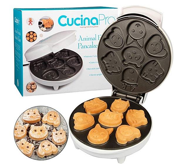 Mini Animal Waffles Quick Maker Kitchen Gadget