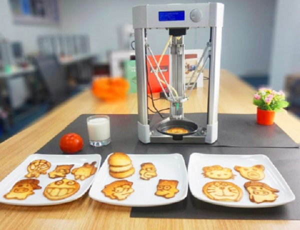 Mmuse Delta Model Desktop Food Printer