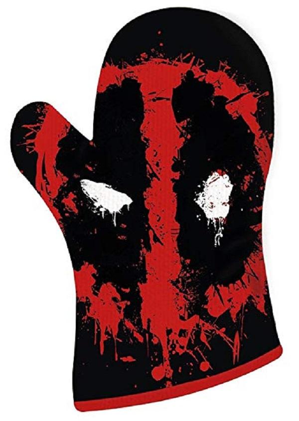 Deadpool Oven Mitt