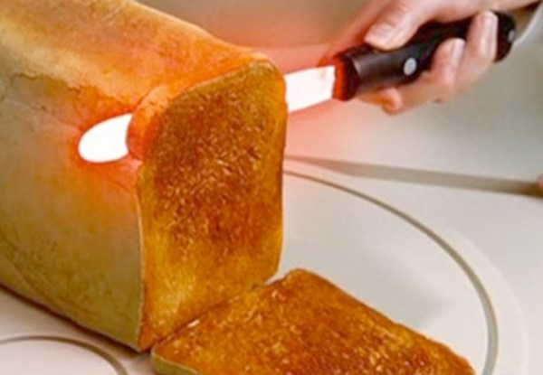 This Lightsaber Toast Knife