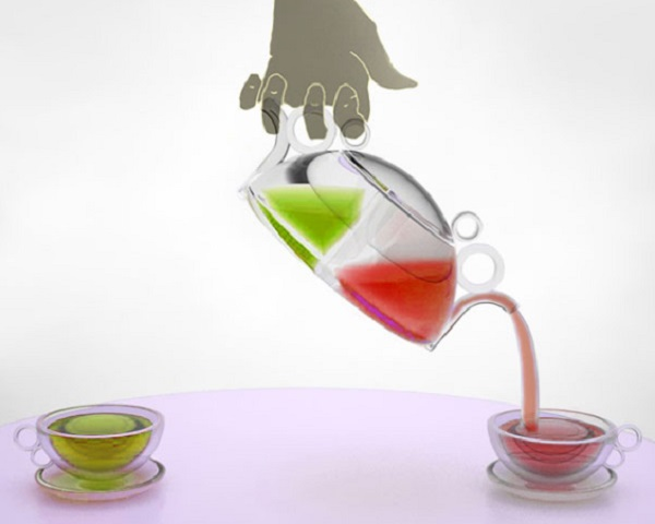 Double Brew Teapot