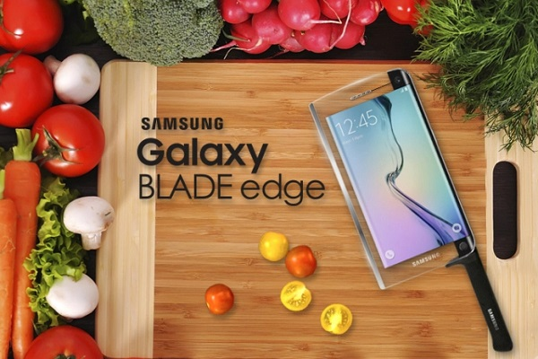 Samsung Galaxy Edge Food Chopper