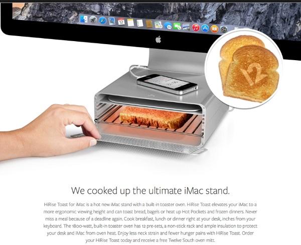 Apple iMac Toaster/iMac Stand