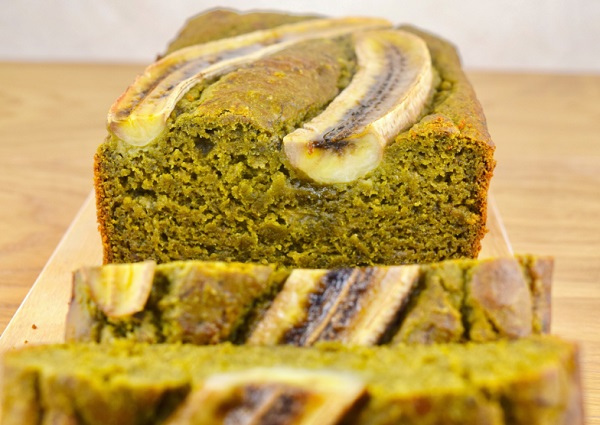 Matcha Green Tea Banana Bread