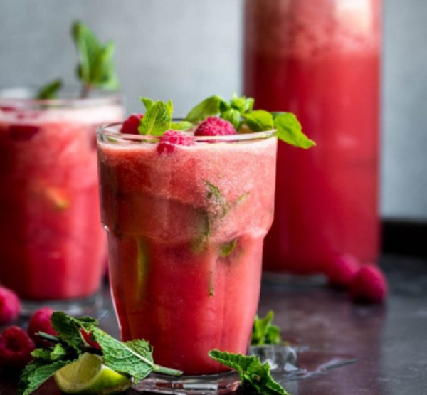Watermelon & Basil Cooler