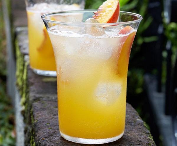 Summer Peach Cooler