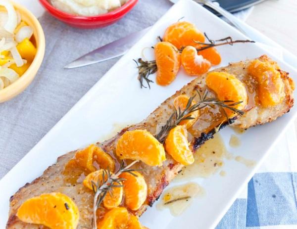 Marinated Citrus Pork Chops
