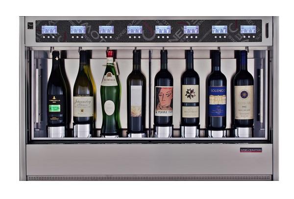 WineEmotion 8 Bottle Wine Dispenser