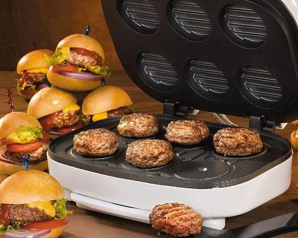 Electric 6X Mini Burger Maker