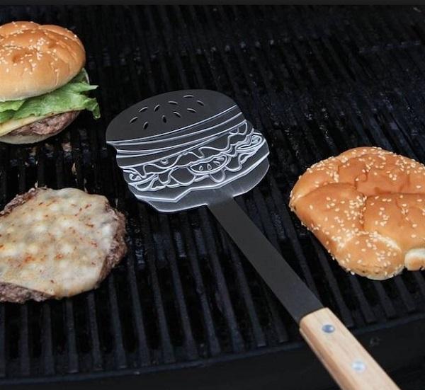 Burger Shaped Burger Flipper